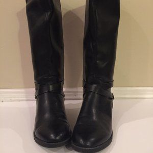 Chaps Calf-Length Synthetic Boots